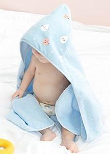 Mr. Wonderful WOA09001EN Toalla de baño para bebé con capucha