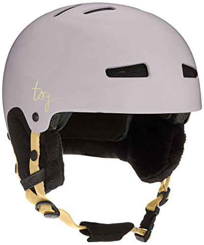 TSG Lotus Solid Color Helm, Satin grayolet, L/XL