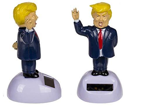 OOTB Tanzende Solarfigur Mr. President, USA, Bewegliche Figur, Amerika, Wackelfigur