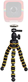 Polaroid Snap and Wrap Flexi Tripod with 360° Rotating Ball Head + Polaroid Magnet to Tripod Adapter Mount For Polaroid Cube, Cube+ Action Camera - Mount Your Cube To The Flexi Tripod [並行輸入品]