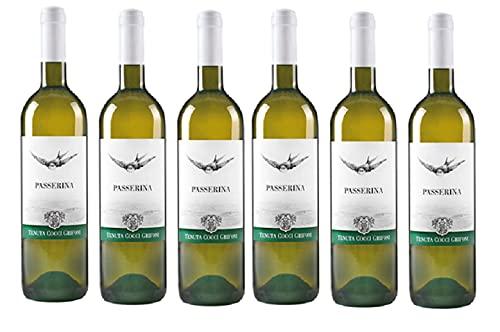 Cassa da 3 o 6 bottiglie di PASSERINA -Tenuta Cocci Grifoni- 750 ml 13% (6)