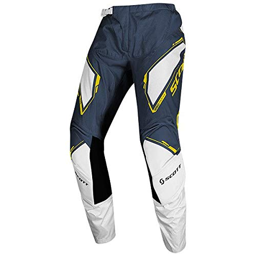 Scott 350 Dirt Kids Kinder MX Motocross/DH Fahrrad Hose blau/weiß 2020: Größe: 26