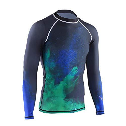 Cocosity Tauch-Neoprenanzug, Langarm-Neoprenanzug Jacke Top Neoprenanzug Jacke Tauchoberteil Neoprenanzug, Dauerhafter UV-Schutz für Wassersport-Tauchen(XL)