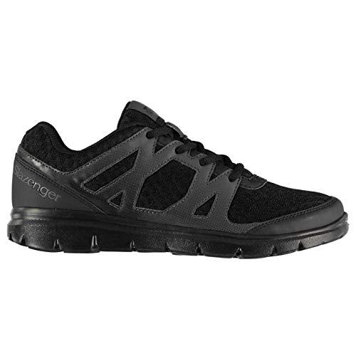 Slazenger Mujer Pace Zapatillas Deportivas Negro/Negro 39 1/3 EU