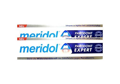 2x MERIDOL Parodont-Expert Zahnpasta 75 ml PZN 12442269 gegen Parodontitis