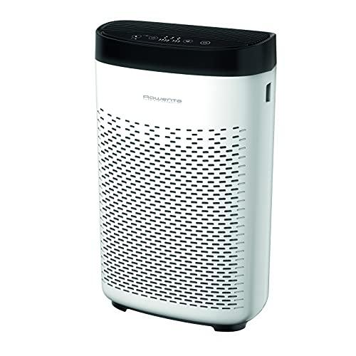 Rowenta Pure Air Essential PU2530 purificador de aire con prefiltro, filtro de carbón activo y filtro de partículas finas, 3 velocidades, modo Silencio, indicador de cambio de filtro y temporizador 🔥