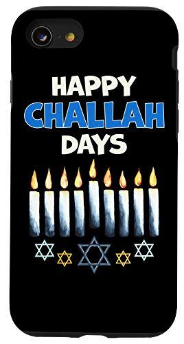 iPhone SE (2020) / 7 / 8 Happy Challah Days Shirt Funny Hanukkah Pajamas For Family Case