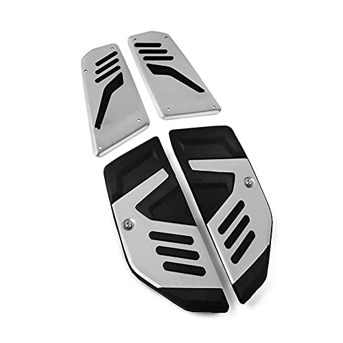 Reposapiés Para T&MAX 560 Para T-Max 560 Para TMAX560 2017-2018-2019-2020 Estribo Motocicleta Pasos Delanteros Traseros Reposapiés Pedal Placa Pie Estriberas (Color : B)