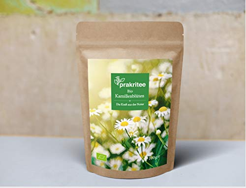 Bio Kamillenblüten Tee 100g | Bio Kamilleblüten Tee | Kamillen Tee | Kamillen | Nachhaltig und biologisch angebaut | ORGANIC Chamomile | 100g DE-ÖKO-044