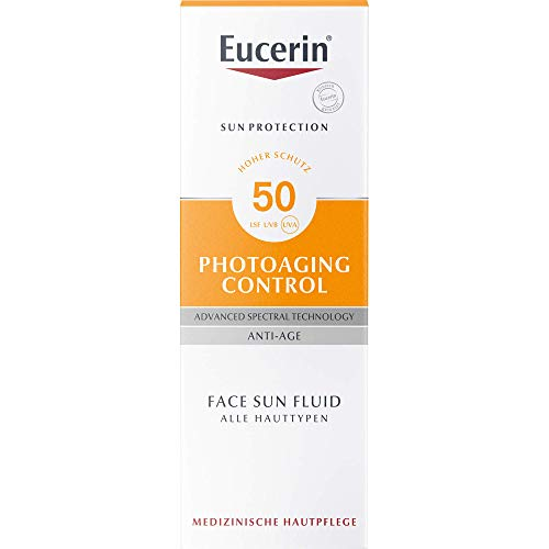Eucerin Photoaging Control Face Sun Fluid LSF 50, 50 ml Lösung
