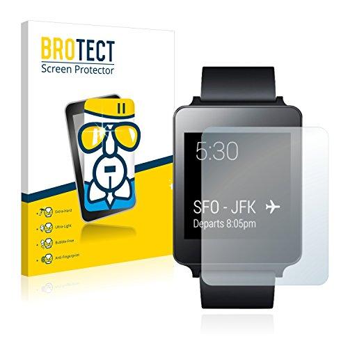 BROTECT Protector Pantalla Cristal Compatible con LG G Watch Protector Pantalla Vidrio...