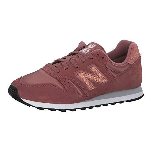 New Balance 373, Sneaker a Collo Basso Donna, Arancione (Dark Oxide/Grey PSP), 36 EU