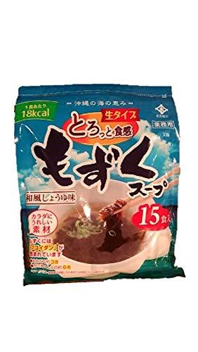 永井海苔 モズクスープ 15袋(35gx15)
