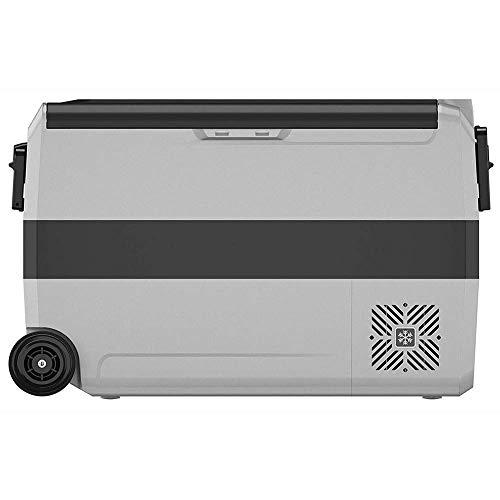 Tragbare Thermo-elektrische Kühlbox/Heizbox, 50 Liter, 220 V, Mini-Kühlschrank für Auto, LKW, Boot + Steckdose. 72.3 * 36 * 45.8cm.