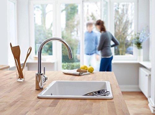 Grohe – Concetto Küchenarmatur, hoher Auslauf, Schwenkbereich 360°, Chrom - 6