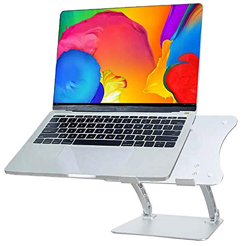 EAHKGmh Laptop Stand with Fully Customizable Viewing Angles and Heights for Elevating Projectors and any Laptop Notebook Tablet Computer for Better Ergonomics