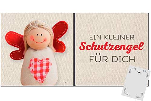 con-trade Trend Servietten Text Geburtstag Tischdeko Schutzengel 20 Stück 3-lagig 33x33cm