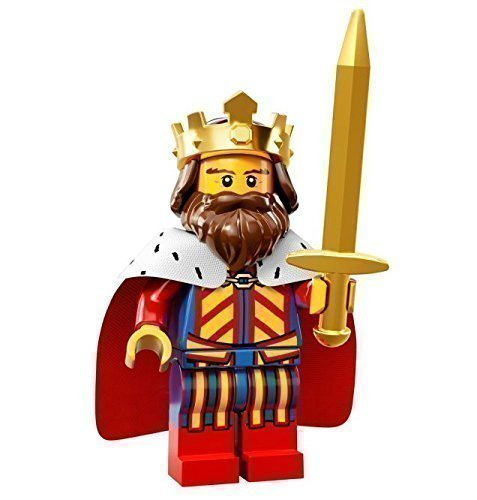 LEGO Minifiguren - Serie 13 - 71008 - Lego Series 13 König