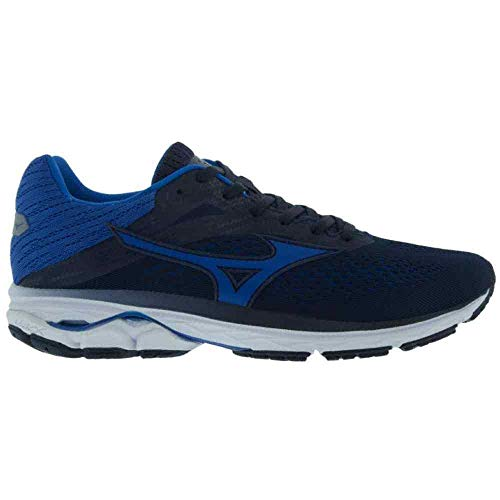 Tênis Mizuno Wave Prorunner 23 Masculino 4144259-0180, Cor: Azul/branco, Tamanho: 41