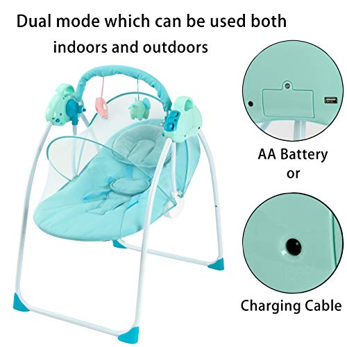 41sC1gHZuZL 10 Best Portable Baby Swings on the Market 2021 Review