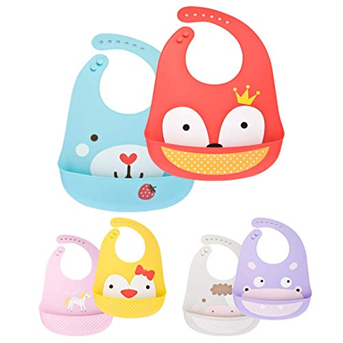 Waterproof Silicone Weaning Baby...
