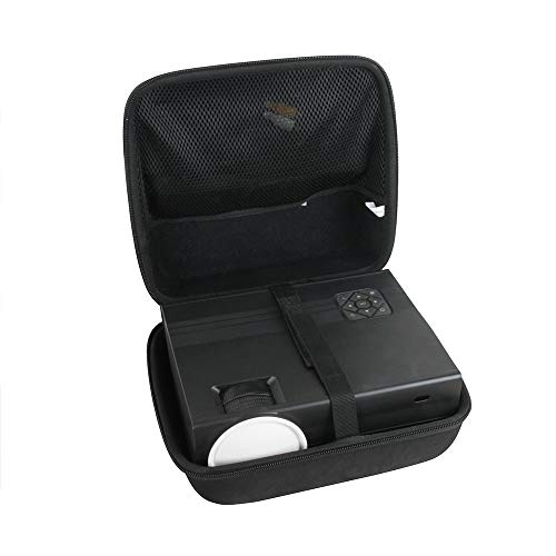 Hermitshell Hard Travel Case for TOPVISION 4500L / GIMISONIC 4000Lux Portable Mini Projector Idaho