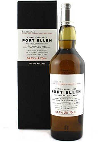 Port Ellen (silent) - 6th Release - 1978 27 year old Whisky