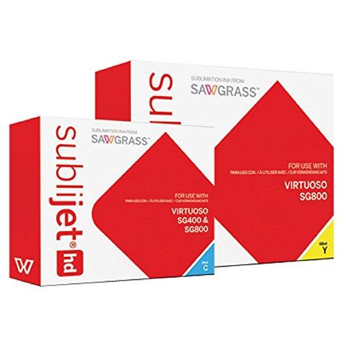 AGX SubliJet HD Inchiostro per stampante Sawgrass (SG400/SG800) (giallo, SG800, 68 ml