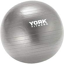York Yoga Ball Size 75 cm, Grey, 60492