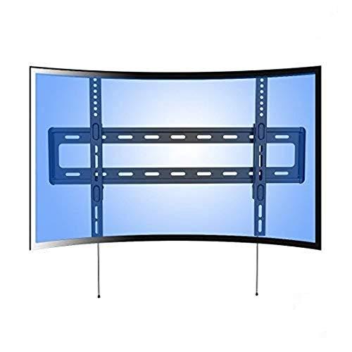 Fleximounts R1 Soporte de Pared Fijo para televisor UHD HD Curvo, cuadra a la mayoría de TVs de 32-70 Pulgadas (81-178cm) de LED, LCD, Plasma, OLED (de Panel Plano o Curvo)