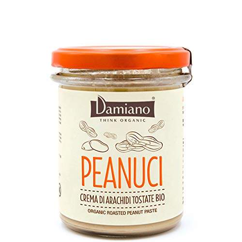 Crema Spalmabile di Arachidi Tostate Biologiche - Senza Glutine e Vegan Friendly - Vaso da 750g