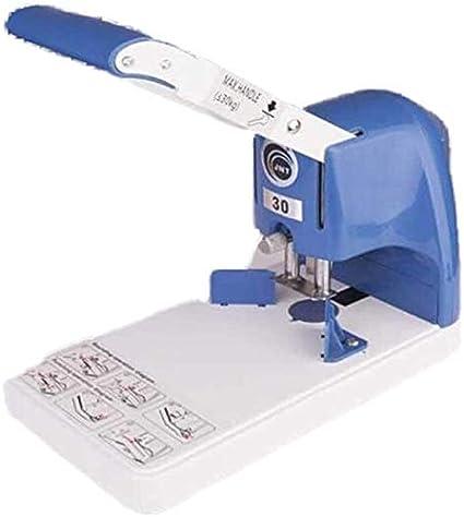 Cortador de papel Guillotina de Papel Cortador de papel, de papel del condensador de ajuste manual de la esquina redonda Máquina 3 cm Fácil de usar Diseño de la operación es más simple y más convenien