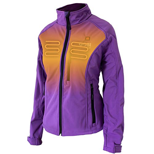 Sahara Women's Heated Jacket - 10 hrs of Heat | 3 Heat...