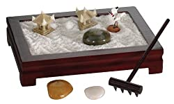 Top 10 Teacher Supplies: mini zen garden with sand, rocks, a rake, etc. for the desktop