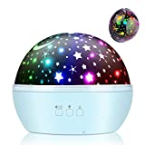 Projektor Lampe, Vivibel Nachtlicht Sternenhimmel Projektor & Ozean Projektor 360° Rotierend...