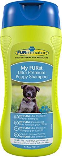FURminator Ultra Premium-Shampoo für Welpen (für die Reinigung empfindlicher Welpenhaut), 250 ml Flasche