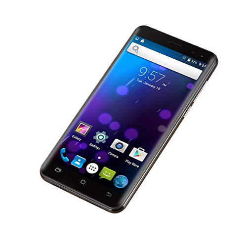 73JohnPol 5 Pulgadas Android 6.0 Smartphone Desbloqueado Quad Core Dual Sim WiFi 3G GPS 512Mb Teléfono móvil y (Color: Negro)