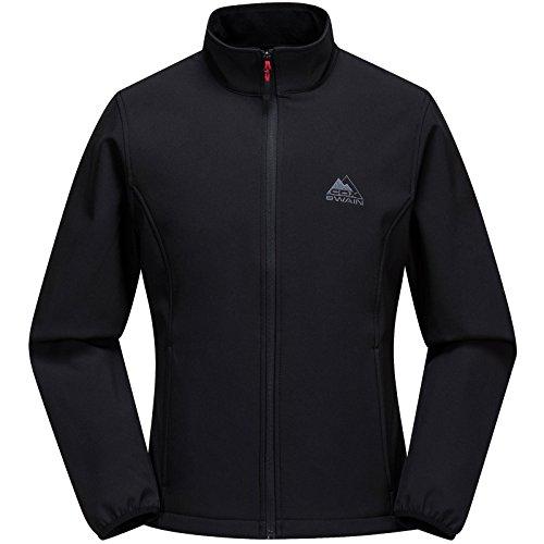 Cox Swain Damen Softshell Jacke Dora - hoher, Colour: Black, Size: XL