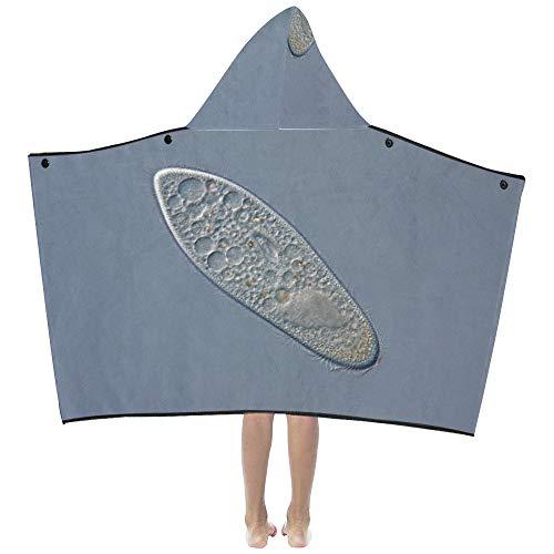 Leben Ursprung Paramecium weiche warme Kinder verkleiden sich mit Kapuze tragbare Decke Badetücher werfen Wrap für Kleinkinder Kind Mädchen Jungen Größe Home Reise Picknick Schlaf Geschenk