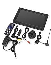 Draagbare digitale tv Analoge autotelevisies met DVB-T-T2 1024x600 resolutie Draagbare tv 10 inch voor slaapkamer keukenauto(EU-stekker)
