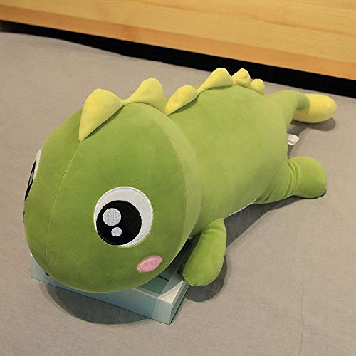 CPFYZH Hug Soft Big Dinosaur Plush Toy Soft Plush Cartoon Animal Dinosaur Doll Sofa Bed Pillow Pillow Boy Birthday Gift-80Cm_A