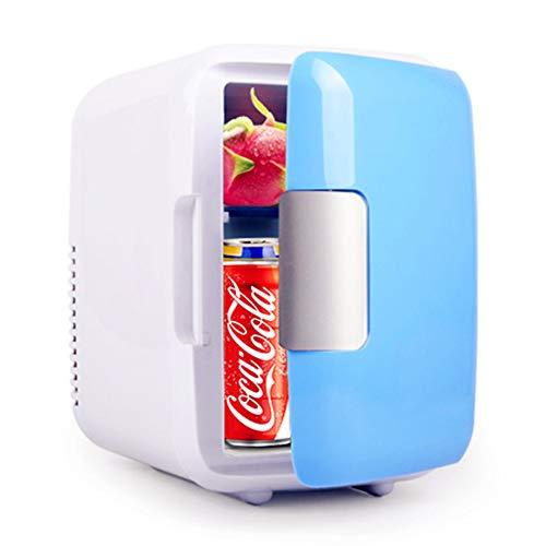 4 Liter Volumen-Minikühlschrank Für Auto, Tragbarer Minikühlschrankkühler Und -wärmer Mit AC/DC-Netzkabeln, Super Leiser Gefrierschrank Im Fahrzeug