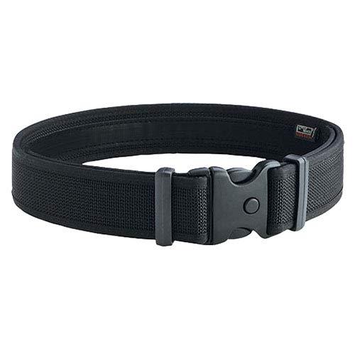 Uncle Mike s Law Enforcement Mirage Plain Ultra Duty Belts (Medium, Black)