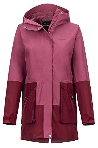 Marmot Damen Hardshell Regenjacke, Winddicht, Wasserdicht, Atmungsaktiv Wm's Wend, Dry Rose/Claret, M, 45430