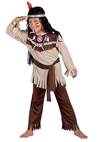 Ciao 10791 - Indiano Costume Bambino con Make-Up, 7-9 Anni