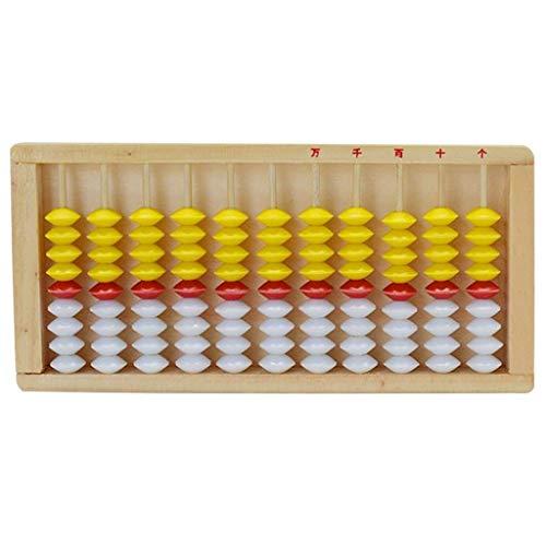 yotijar Ábaco estándar-8,15 Pulgadas-calculadora Profesional de 11 columnas (Herramienta de Aprendizaje Funcional...