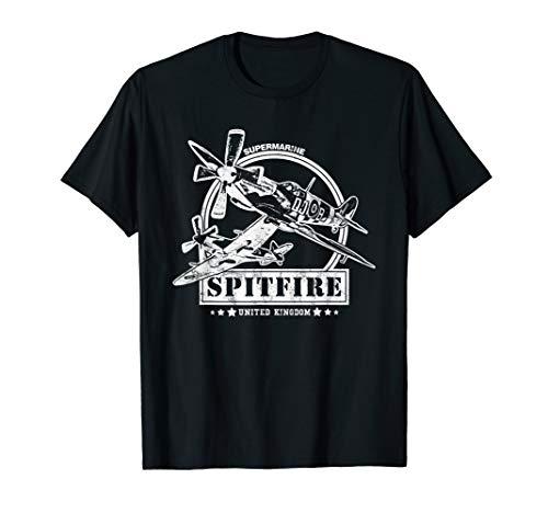 WW2 Supermarine Spitfire Flugzeug T-Shirt