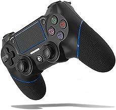 وحدة تحكم لاسلكية Fegishilly لوحدة تحكم PS4، وحدة تحكم لاسلكية لجهاز PS4/برو/3/سليم/بيسي، لوحة ألعاب تعمل باللمس مع اهتزاز...
