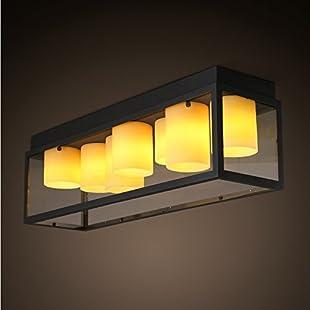 HBA LED pendant luminaire bathroom Bedroom Dining room Kitchen Hallway invisible fire for 950 * 290mm:Seks-irani