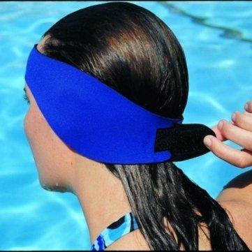 Hochwertige wasserdichte Neopren Kinder / Erwachsene Schwimmen Ohrbänder Stirnband